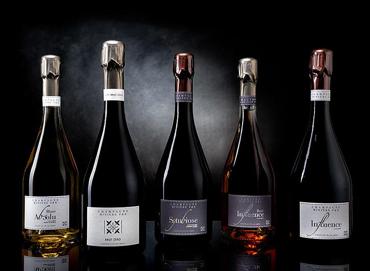 Toutes les cuvées champagne Minière F & R